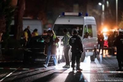 В Германии застрелили мужчину, устроившего на улице хаотичную стрельбу