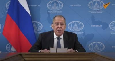 Большая пресс-конференция главы МИД России Сергея Лаврова. Прямая трансляция