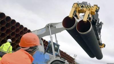 Handelsblatt: США вводят санкции против трубоукладчика «Северного потока – 2»