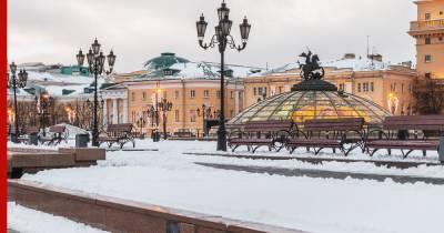В Москве 21 января ожидается снегопад