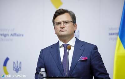 Украина хочет вывести партнерство с США на новый уровень, - Кулеба