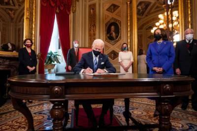 Байден в первый день на посту вернул США в ВОЗ и климатическое соглашение