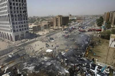 В Багдаде смертники подорвали две бомбы на многолюдном рынке: видео со взрывом