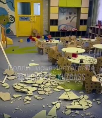 В прокуратуре озвучили результаты проверки обрушения штукатурки в детсаду в Кемерове
