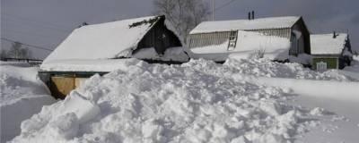 В Калужской области при обрушении снежной крепости погибла 8-летняя девочка