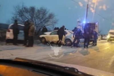 ДТП с несколькими автомобилями произошло в Чите, погиб человек — очевидцы