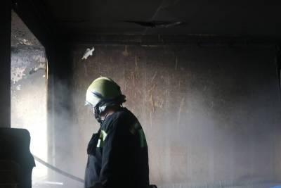 Во время пожара на улице Черновицкой в Рязани пострадал 7-летний мальчик