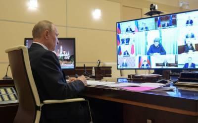Путин обсудит с правительством ситуацию с коронавирусом в России
