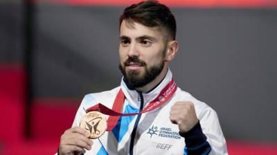 Израильтянин Андрей Медведев завоевал бронзу на чемпионате мира по гимнастике