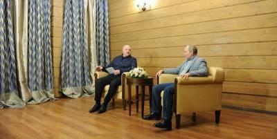 В сети подшутили над моментами со встречи Лукашенко и Путина в Сочи - фото и видео - ТЕЛЕГРАФ