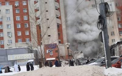 Под завалами дома в Нижнем Новгороде находятся два человека