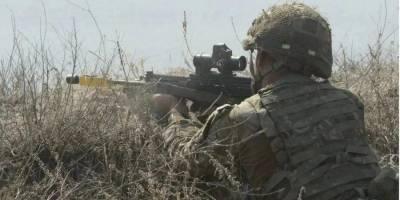 Оккупанты на Донбассе вели огонь из пулеметов и стрелкового оружия. Украинские военные ответили на обстрел