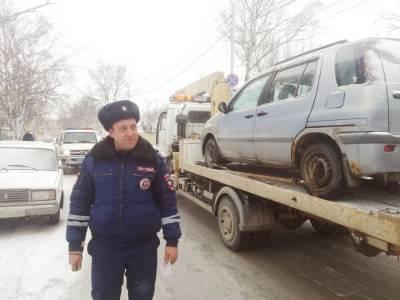 ГИБДД в Южно-Сахалинске жестко взялась за эвакуацию