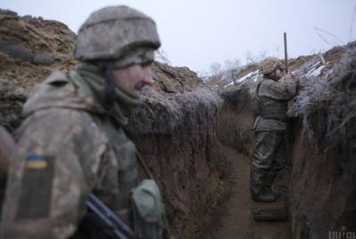 Украинские военные перехватили на Донбассе российский беспилотник