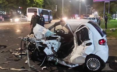 В Ташкенте в результате ДТП погибли два человека, еще один – госпитализирован. Причина – один из водителей гонял по ночному городу
