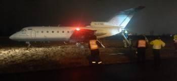 В Пулково едва не разбился самолет Як-40 из Вологды