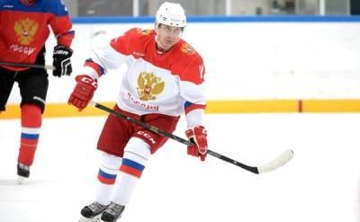 """Путин сыграл в хоккей – поучаствовал в гала-матче """"Ночной хоккейной лиги"""""""