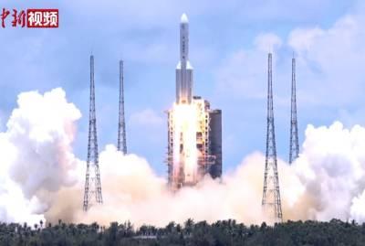 Китайская космическая ракета вышла из-под контроля и упадет на Землю