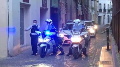 Во Франции наркоторговец застрелил полицейского