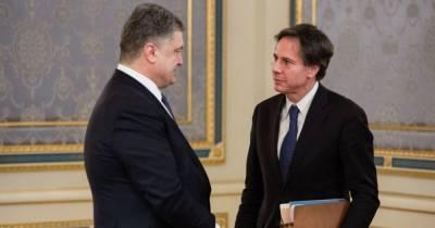 Порошенко поймали на лжи: он выдал встреча глав фракций с Блинкеном за двусторонние переговоры