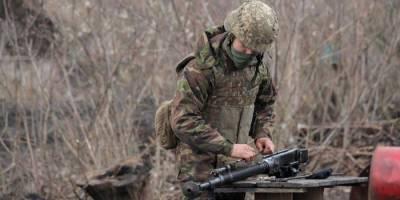 Украинский военный погиб на Донбассе в результате обстрела боевиков — ОТГ Восток