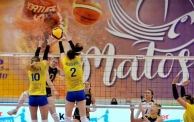 Украинские волейболистки проиграли Швеции в отборе на ЧЕ-2021