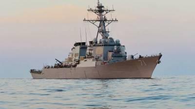 Корабли США и Украины встретились в Черном море под присмотром ЧФ