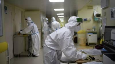 В России за сутки зарегистрировано 8419 новых случаев коронавируса