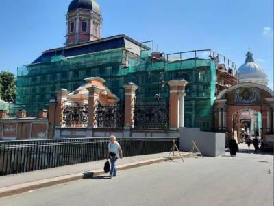 ГАТИ дал «зеленый» свет на реставрацию Благовещенской церкви в Александро-Невской лавре