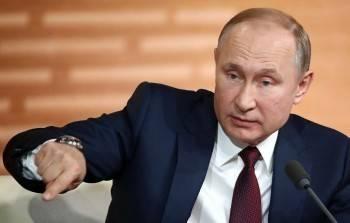 Только треть россиян доверяют Владимиру Путину