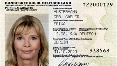 Новое удостоверение личности: что нужно знать жителям Германии