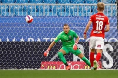 «Спартак» в матче чемпионата России одержал победу над «Крыльями Советов»