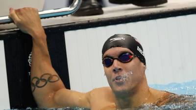 Дрессел с мировым рекордом завоевал золото ОИ в плавании на 100 м баттерфляем, Минаков — четвёртый