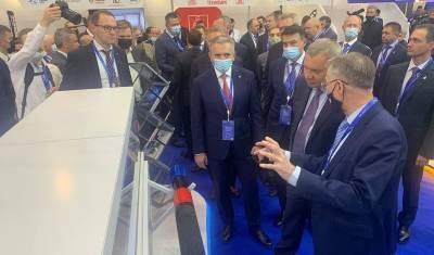 Выставку TNF 2021 в Тюмени посетили власти