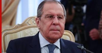 """Лавров рассказал, что запуск """"Северного потока-2"""" может произойти в 2022 году"""