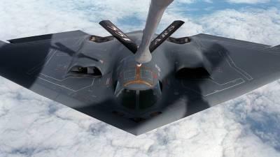 В США совершил аварийную посадку стелс-бомбардировщик