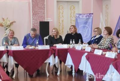 Губернатор Ленобласти встретился с представительницами регионального отделения Союза женщин России