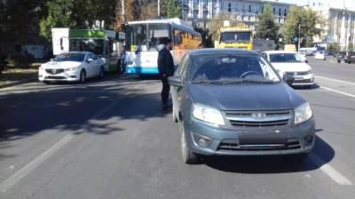 В Воронеже произошло очередное ДТП с маршруткой: есть пострадавший