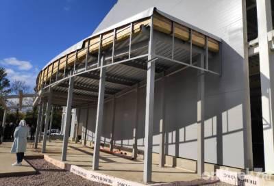 Строительство ледовой арены в Волхове планируют завершить раньше срока