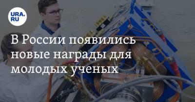 В России появились новые награды для молодых ученых