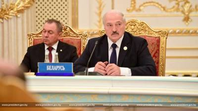 Лукашенко на саммите ОДКБ пожаловался на введенные санкции