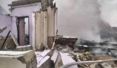 В Башкирии частный дом был полностью уничтожен из-за взрыва газа